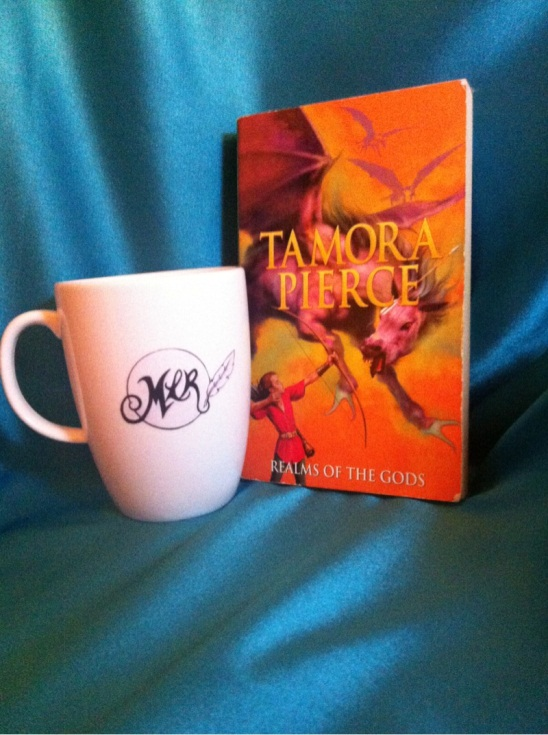 The Realms of the Gods, Book 4 in The Immortals Series by Tamora Pierce
