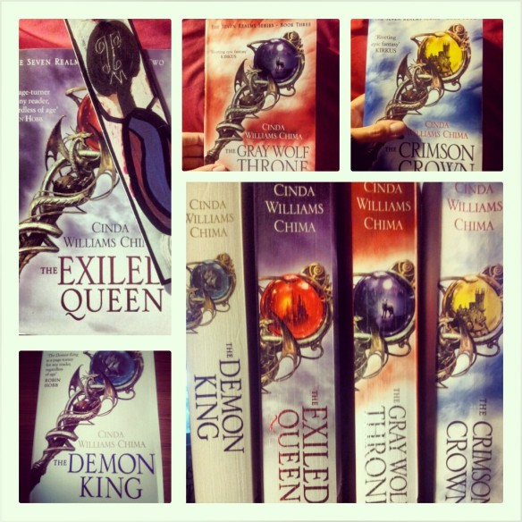 The Seven Realms series - soooo pretty, neh?