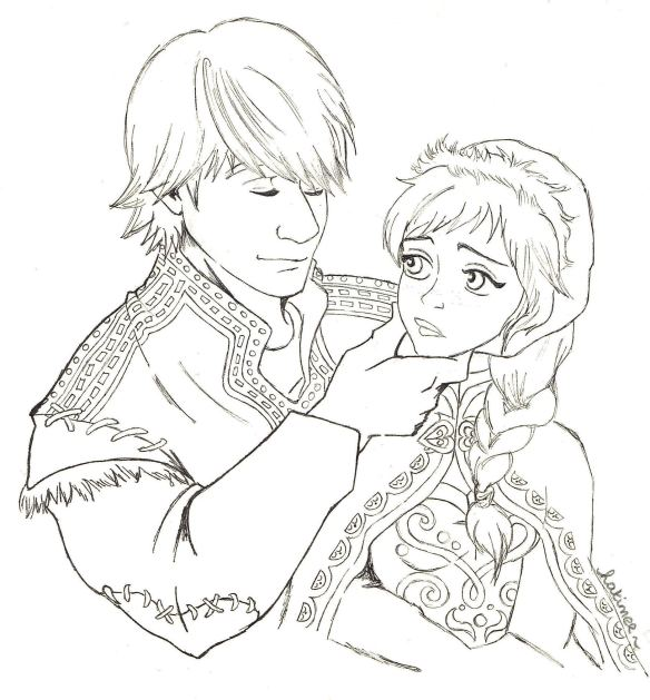 Kristoff and Anna... please let this movie be Tangled epic!!