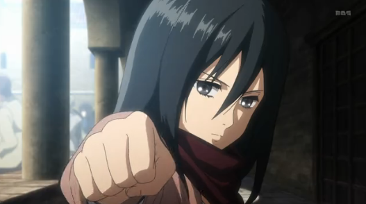 attack-on-titan-mikasa-punch